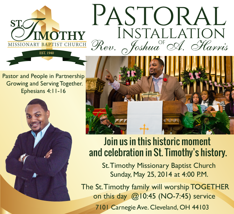 sample Baptist pastor installation service program | just ...